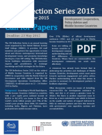 Call for Papers Reflection Series New UNSSC