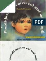 POEZII-JUCARII PENTRU CEI MAI MICI COPII - Daniela Crasnaru (1987, 2001, Ilustratii de Anamaria Smigelschi)