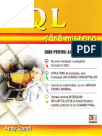 Andy Oppel-SQL Fara Mistere-Rosetti Educational 2006