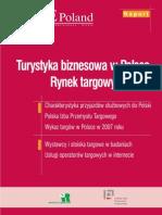 Turystyka Biznesowa w Polsce. Rynek targowy