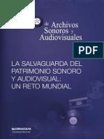 Memorias del Cuarto Seminario Internacional de Archivos Sonoros y Audiovisuales