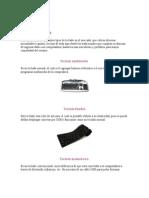 Tipos de Teclado y Tipos de CPU