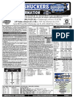 7.15.15 vs CHA Game Notes