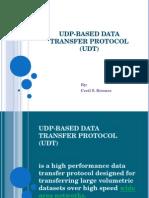 UDP-based Data Transfer Protocol (UDT)