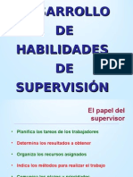 2. Habilidades de Supervisión