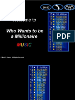 Who Wants to Be a Millionaire Music