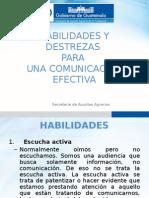 Habilidades de La Comunicación en Solucion de Conflictos Sociales