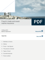 Fraud in Trade and Ocean Marine Insurance
