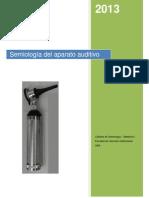 Semiologia Del Aparato Auditivo