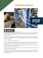 Is Sri Lanka's Rajapaksa Making a Comeback