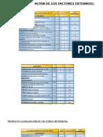 Matriz Efe (Evaluación de Los Factores Externos)