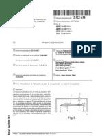 Procedimiento de fabricación de palas de aerogenerador con material termoplástico.