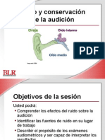 Noise and Hearing Conservation Spanish