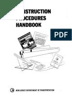 Construction Procedures Handbook