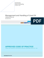 Hsnocop63 Management and Handling of Used Oil 438 Kb PDF