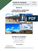 Informe Final de Seguridad de Construccion de Laboratorio de Muestreria