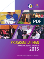 Program Latihan MKM 2015