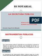 Derecho Notarial Instrumentos Públicos