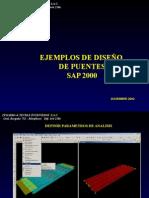 Ejemplo de Diseño de Puentes - SAP2000