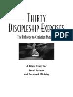 Discipleship Exercises