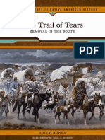 The Trail of Tears. Removal in the South