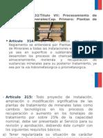 Reglamento de seguridad minera plantas.ppt