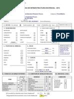 Ficha Técnica de Infraestructura Asistencial 2012 - CAPI Pozuzo