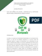 PROYECTO PLAN INSTITUCIONAL DE LECTURA Y ESCRITURA 2014-2.docx