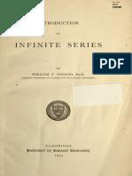 Infinite Series by Osgood