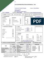 Ficha Técnica de Infraestructura Asistencial 2012 - CAPII Huayllay