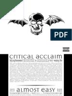 Digital Booklet - Avenged Sevenfold