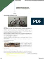Geometrías Básicas Generales de Una Bicicleta Por Goose de Gassattack
