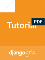 Djangogirls Tutorial