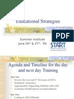 start training basics