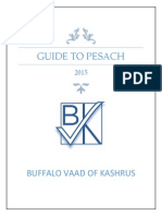 guide to pesach 2015