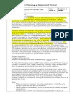 authentic planning document
