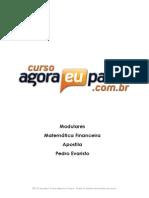 PDF AEP Modular MatematicaFinanceira Apostila PedroEvaristo