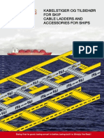 Cable Ladders and Accessories for Ship 0712