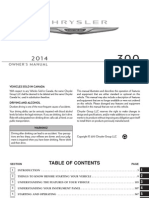 Chrysler 300 Manual 2014