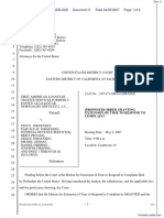 First American Loanstar v. Jorgensen, et al - Document No. 5