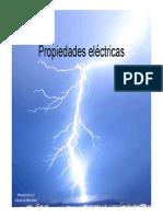 Propiedades Electricas y Semiconductores