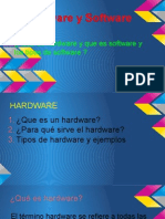 Hardware y Software y tipos de software del PC.ppsx