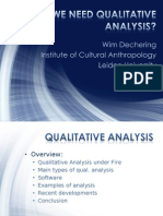 Do We Need Qualitative Analysis
