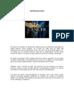 Radiologia, CanceCancer en el Ecuador