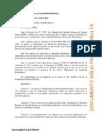 D.S. 009-97-EM Reglamento de Seguridad Radiologica.pdf