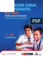 Folleto Ece 2015 Secundaria