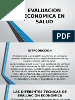 Evaluacion Economica en Salud