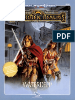 D&D 2e - Forgotten Realms - Adventure - FRE3 - Waterdeep - Tsr9249