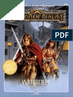 D&D 2e - Forgotten Realms - Adventure - FRE3 - Waterdeep - Tsr9249