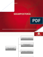 Clase 15. Mamposteria